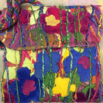 Fiesta Flowers Bag